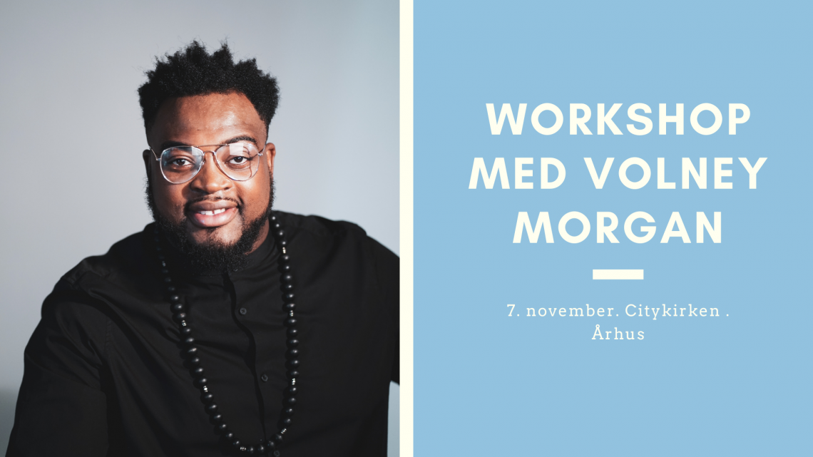 Workshop med Volney Morgan
