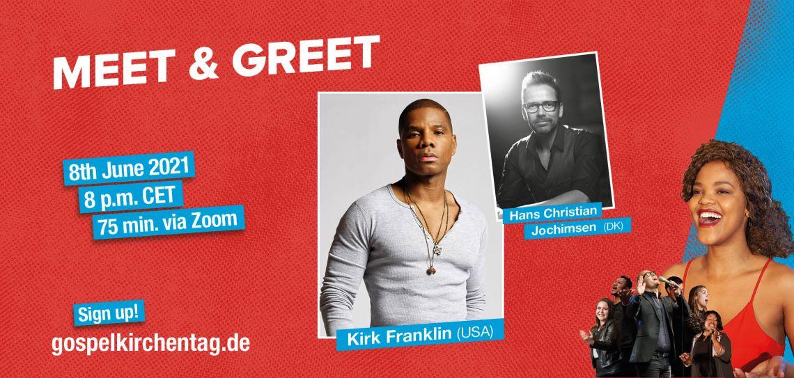 Meet & Greet med Kirk Franklin