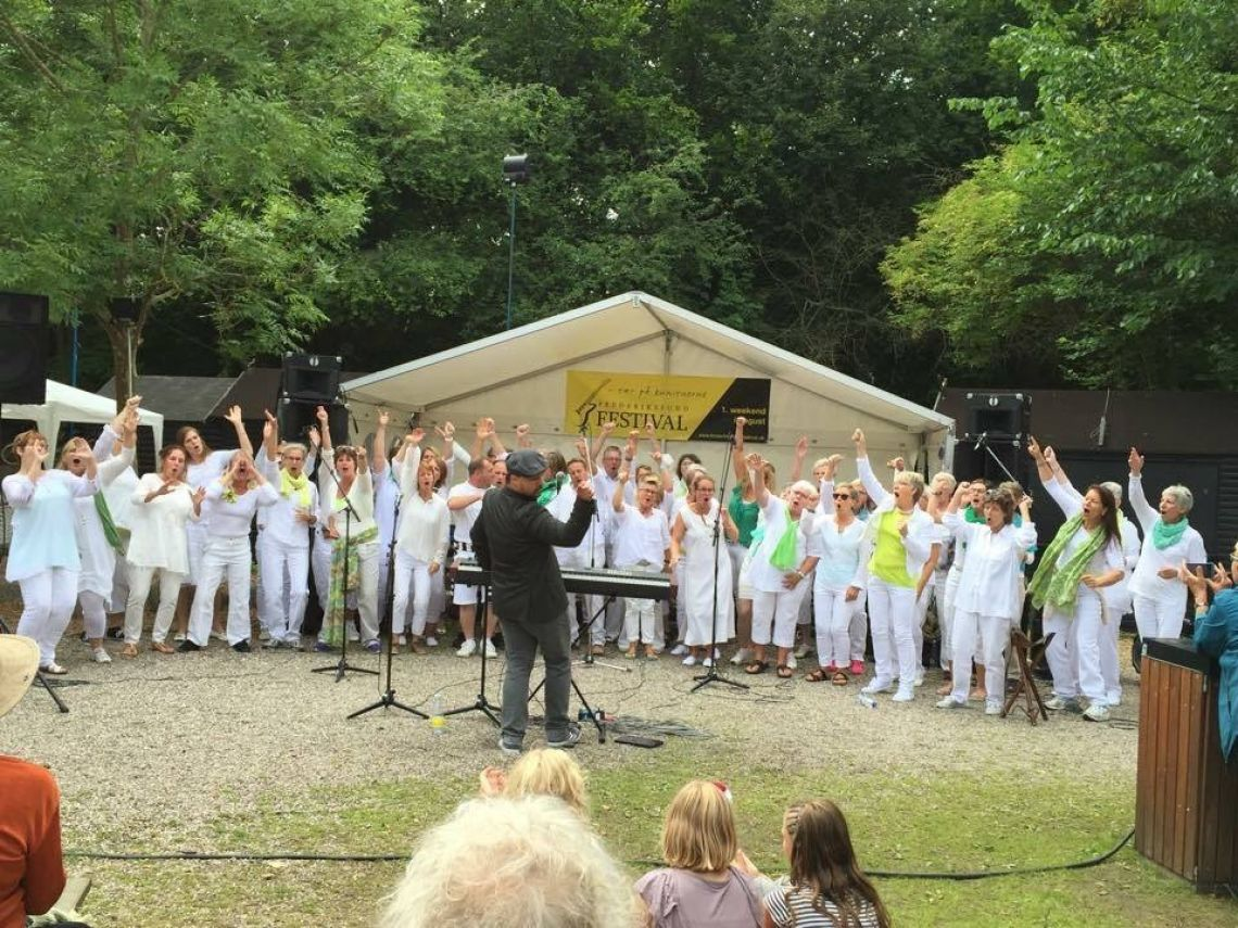 SHOUT Gospel Voices på Frederikssund festival