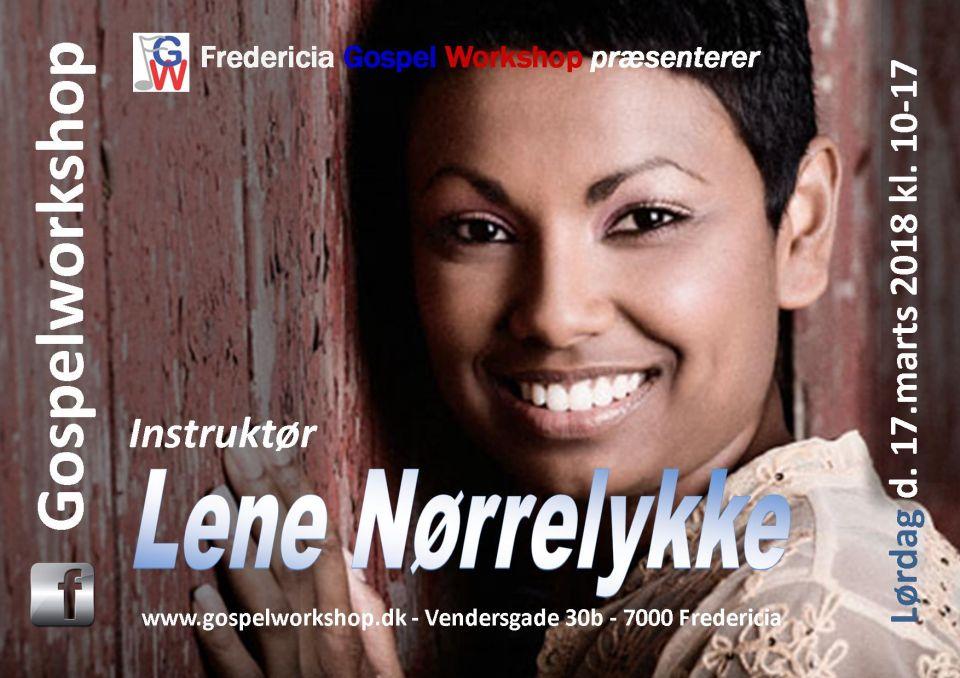 Workshop med Lene Nørrelykke