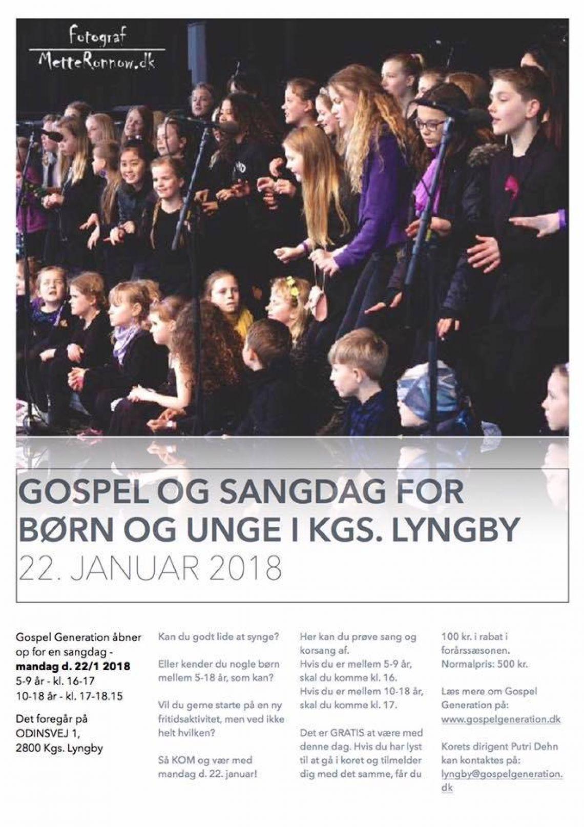 Gospelsangdag for børn og unge