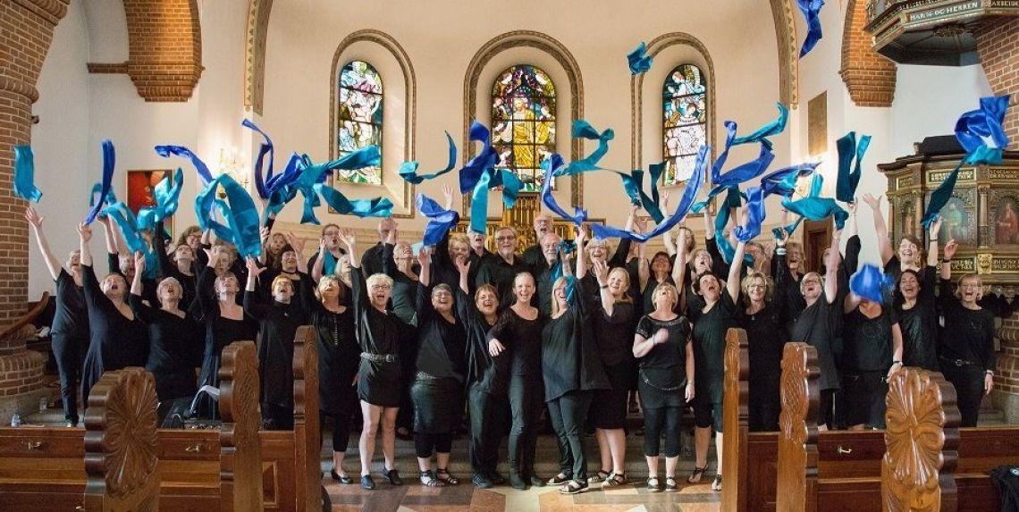 Holstebro Gospelkor i Ørnhøj Kirke