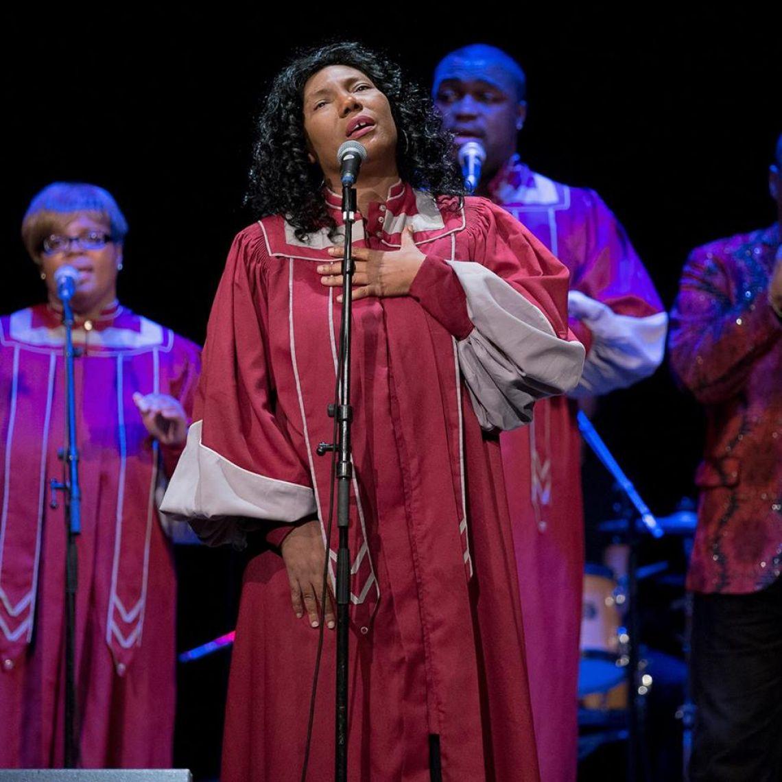 The Harlem Spirit of Gospel synger julen ind