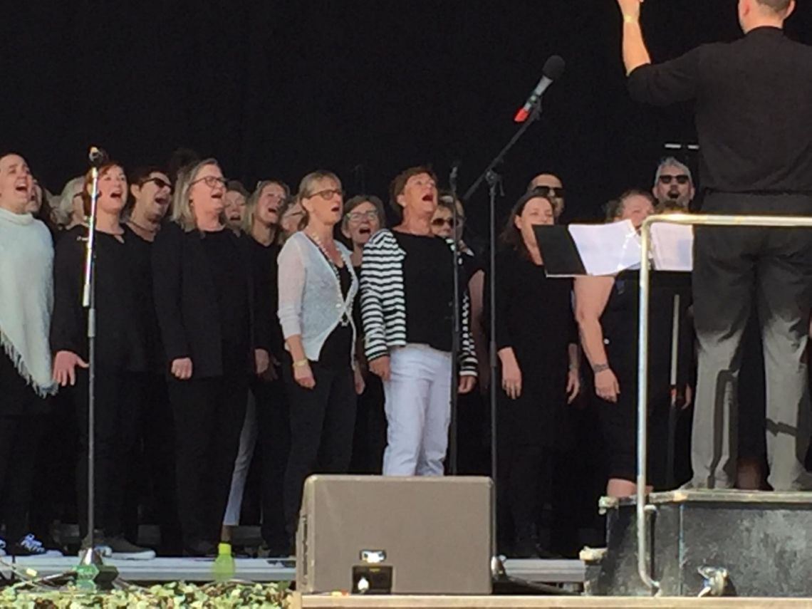 Ringsted Gospel Choir sommerkoncert featuring Jnr. Robinson