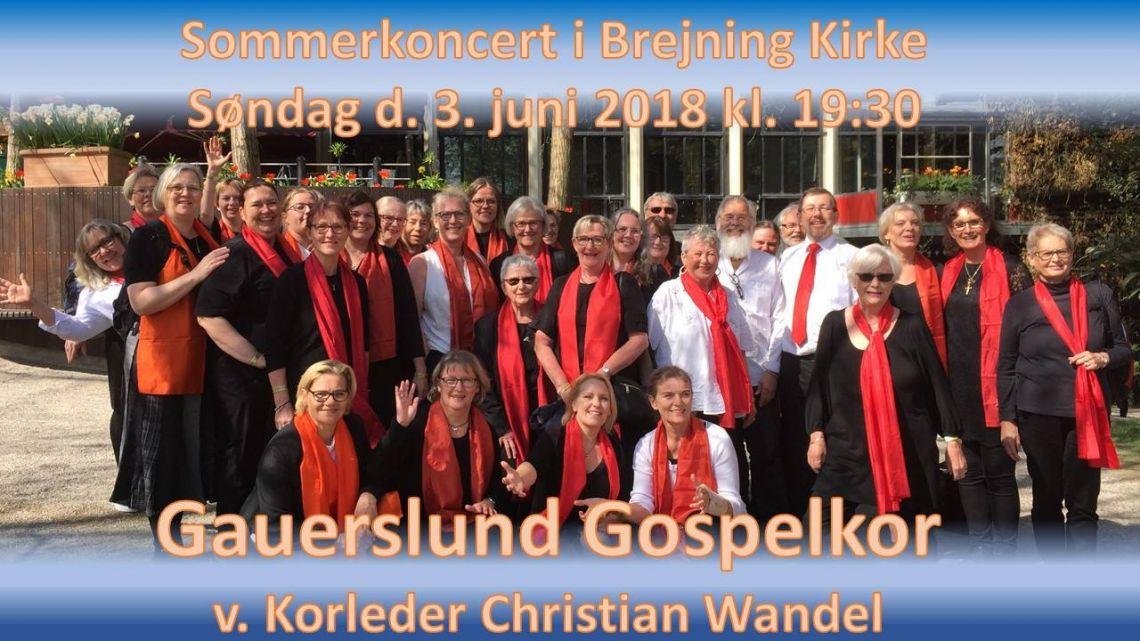 Sommerkoncert med Gauerslund Gospelkor