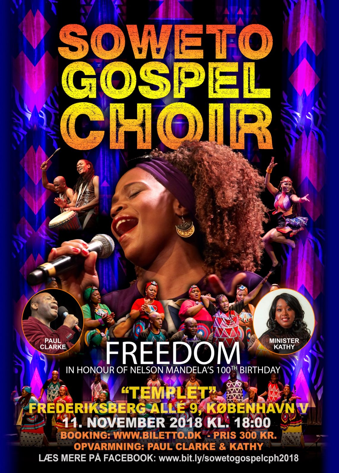 Soweto gospel choir/jule koncert