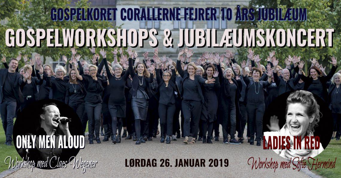 Gospelworkshops med Claes Wegener og Sofie Hermind med afsluttende koncert!