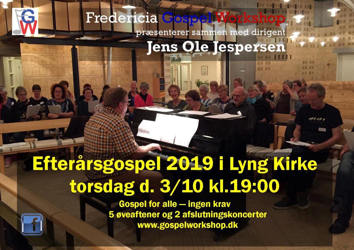 Efterårs Gospel i Lyng Kirke 2019