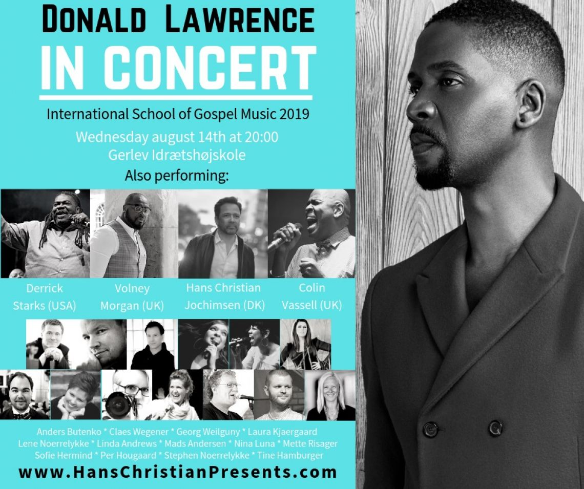 Donald Lawrence in concert