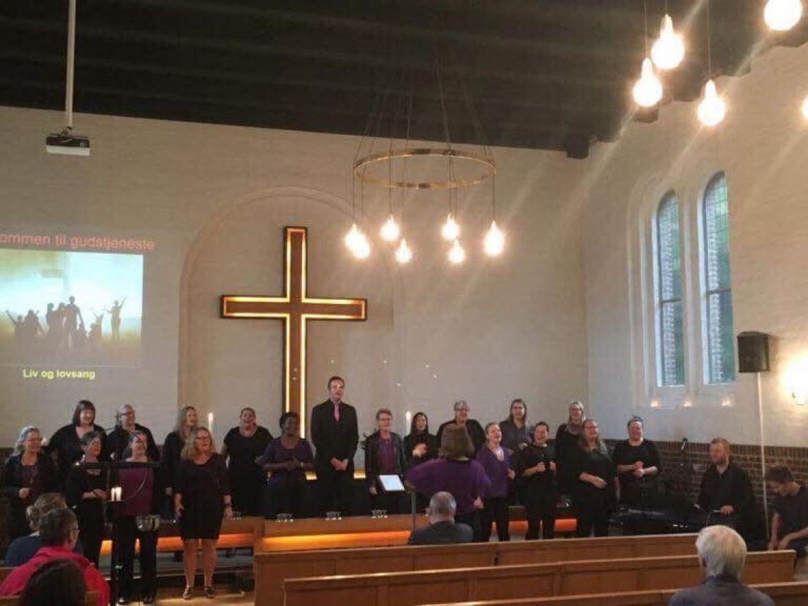 Sæsonstart i Gospelkoret Voices og Praise
