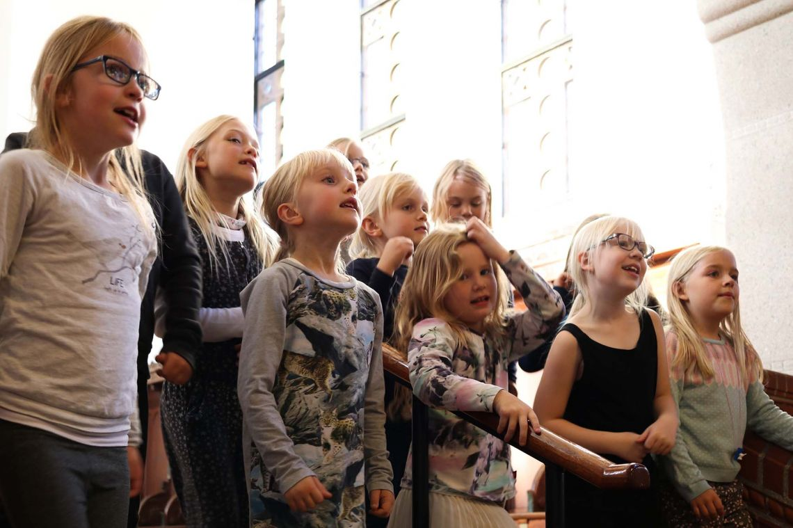 Gospel Generation Østerbro til Tivoli Børnekordage