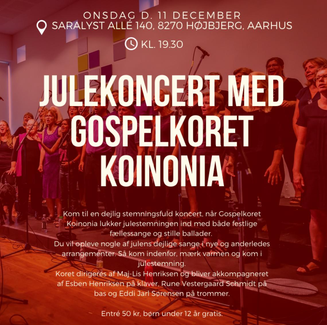 Julekoncert med KOINONIA