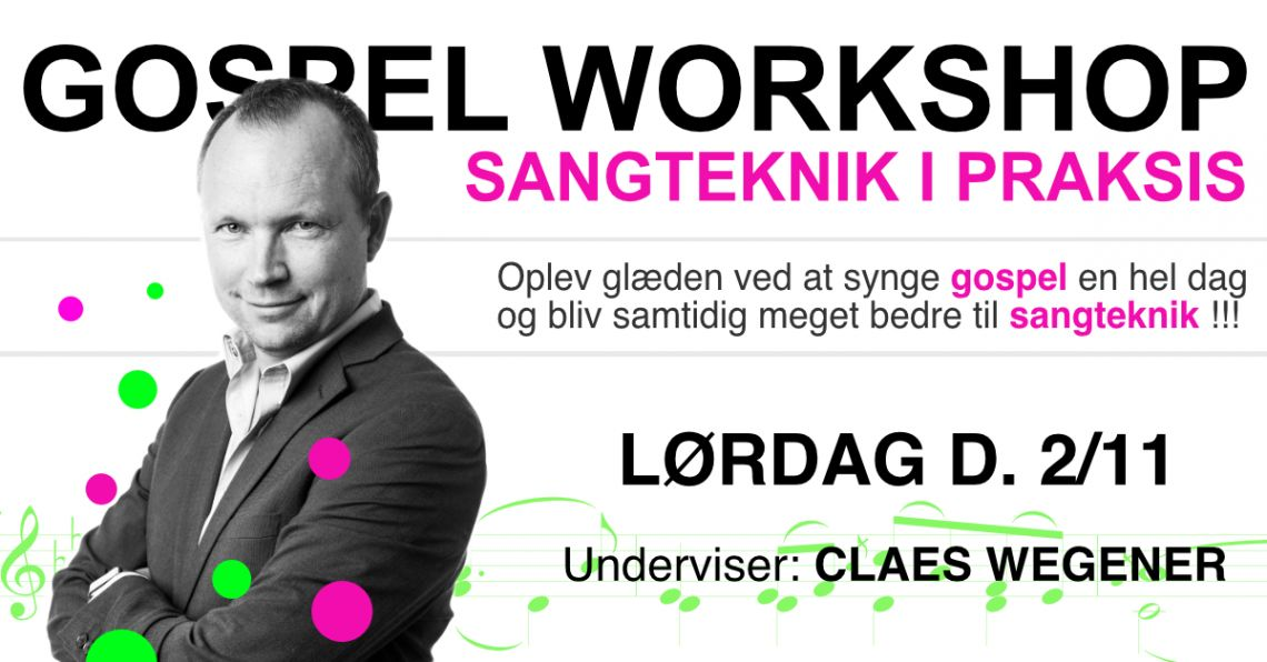 GOSPEL WORKSHOP - sangteknik i praksis