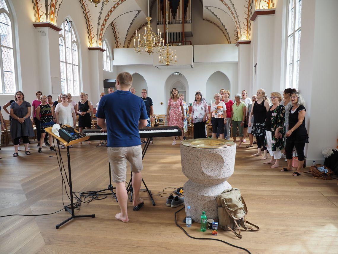 Syng julen ind med Pentatonix - Simon Sings workshop (KOLDING)