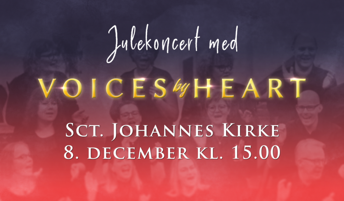 Julekoncert - Voices By Heart